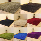 3CM THICK SMALL MODERN MULTI COLOR SHAGGY SPARKLE SHINY SHIMMER CLEARANCE RUG
