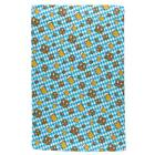 Oktoberfest Beer and Pretzels Bavarian Repeat Pattern All Over Sport Towel