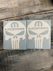 MOPAR PUNISHER SKULL SET OF 2  DECAL STICKER MANY COLORS $3.5 USD on eBay