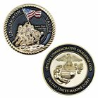 US MARINE CORPS UNCOMMON VALOR COMMEMORATIVE CHALLENGE COIN Rare