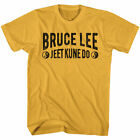 Bruce Lee Jeet Kune Do Text Licensed Adult T-Shirt