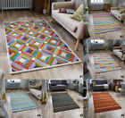 NEW 100% WOOL FLOOR RUGS JASPER SMALL TO LARGE DURABLE INDIAN HAND WOVEN RUG