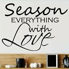Design With Vinyl Season Everything with Love Wall Decal