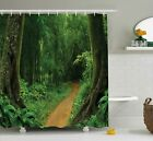East Urban Home Jungle Nature Call Park Design Single Shower Curtain