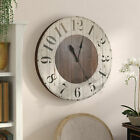 Gracie Oaks Oversized Mayberry Farmhouse Wall Clock