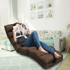 Lounge Adjustable Lazy Sofa Sofe Bed Couch Floor Recliner Folding Chaise Chair
