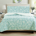 Charlton Home Provost Floral Printed Reversible Quilt Set image