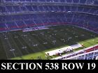 2-4 Denver Broncos vs Houston Texans Tickets 11/04/18 (Denver) Sec 538 Row 19 on eBay