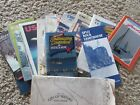 VINTAGE lot of 20 US maps, travel booklets, Wausau Wisconsin, Minnesota, Chicago