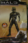 Halo Master Chief Boys Child Halloween Costume 3D Jumpsuit (S) Disguise 89975