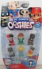 DC COMICS OOSHIES Series One 7 Pack Pencil Toppers Action Figures Choose Pack