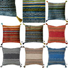 MODERN NEW HAND WOVEN WASHABLE BEST QUALITY CUSHION COVERS AND MATCHING RUNNERS