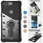 For OnePlus 6 Phone Case shockproof armor military kickstand rigid plastic cover