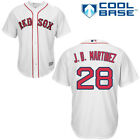 J.D Martinez #28 white cool base Red Sox Jersey
