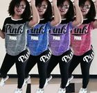 Fashion Women tracksuit T-shirt short sleeve+slim leggings one set S-3XL 1972