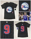 NEW Men's DARIO ŠARIĆ Philadelphia 76ers Official #9 Jersey-Style Gray Tee-Shirt on eBay