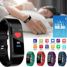 Bluetooth Smart Bracelet Wristband Sport Watch Heart Rate Blood Pressure Monitor