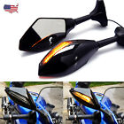 MOTORCYCLE MIRRORS LED TURN SIGNALS INDICATOR FOR YAMAHA YZF 600 YZF R1 R6 R6S