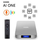 New AI ONE Android 8.1 TV Box Voice Control RK3328 4K Smart Box Media Player