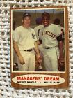 1962 Topps Managers' Dream - Mickey Mantle and Willy Mays - 18