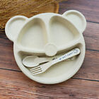 Baby Plate Set Baby Cutlery Dishes Cartoon Food Tray Babies Healthy Fashion Hot