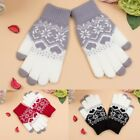 1Pair Women ouch Screen Gloves Girl Stretch Knit Mittens Winter Warm Gloves USA