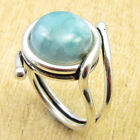 Pick Your Ring Size !! 925 Silver Plated BLUE FIRE LABRADORITE & Other Gemstone