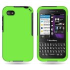 Slim Hard Rubber Shell Phone Case Cover for Blackberry Q5