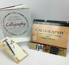 Lot Of 2 Calligraphy Books And One Latine Writing Pen With Nibs