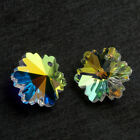 DIY Flower Irregular-Shaped Crystal Glass Beads For Jewelry Pendent Making Lots
