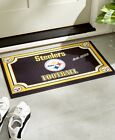 NFL Team Logo Floor Door Mat Football Fan Area Rug Decorative Gift