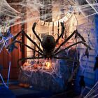 Halloween Spider Decoration Haunted House Prop Indoor Outdoor Wide 2 75cm US T7