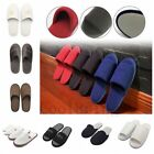 Mens Womens Unisex Hotel Home Indoor Slippers Flats Warm Open Toe Shoes14Styles