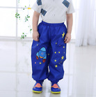 kids children cartoon rain pants boy girls