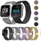 For Fitbit Versa Metal Milanese Magnetic Loop Strap Stainless Steel Wrist Band  image