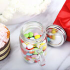 4 oz GLASS Mason JARS with Handles Wedding Party FAVORS Hold