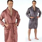 mens satin robe wrap dressing gown med large xl xxl