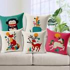 "12x12"" Cushions Cover Printed Polyester Square Pillowcase Car Home Décor"