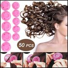 20x Magic Silicone Hair Curlers Rollers No Clip Formers Styling Curling DIY Tool
