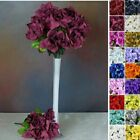 168 VELVET Open ROSES Wedding Flowers Bouquets for Centerpieces Wholesale Supply