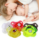 6793 Pacifier Pacified Sleep Calm Mouth Teether Funny Baby Colorful Bat Desgin