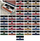 "NHL - Crumb Rubber Door Mat Hockey Team Logo 18"" x 30"" $25.99 USD on eBay"