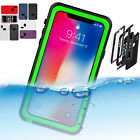 iPhone XS Water Proof Shock/Drop Proof Dirt Proof Full Cover Case For Apple