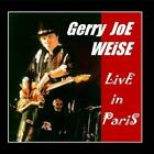 Live In Paris Gerry Joe Weise CD