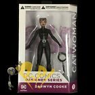 """DARWYN COOKE Designer Series CATWOMAN 6.6"""" Action Figure DC Collectibles NEW!"""