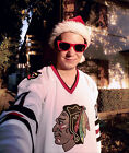 Christmas Vacation #00 Clark Griswold Movie CCM Hockey Jersey Chicago Blackhawks $48.50 USD on eBay
