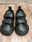 2 Strap Leather Converse Kids Trainer Black Chuck Taylor All Star Infant School