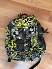 Vera Bradley Large backpack With Matching Makup/ To Go Lined Bag Yellow Black