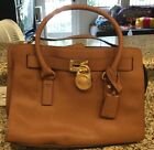 Michael Kora Handbag Brown Shoulder Strap