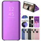 360° Luxury Mirror Case for i Phone XS XR XS Max Clear View Cover Flip Wallet US
